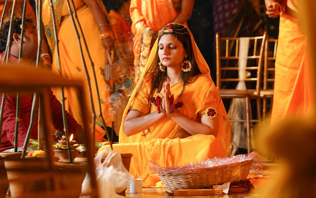 haldi-bangalore-pooja
